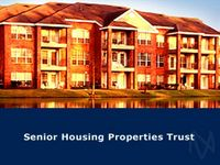 Senior Housing Properties Trades Lower on Offering