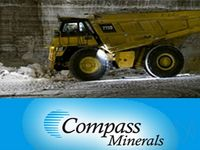 Compass Minerals Jumps Following Q1 Earnings Report