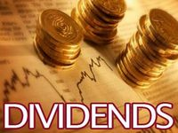Daily Dividend Report: CUZ,GLPI,TWO,MAS,OC