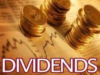 Daily Dividend Report: HUM,NOC,SSNC,CBU,EL